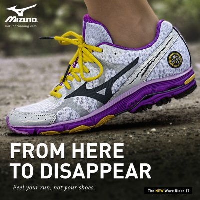 Mizuno Wave Rider 17 Running shoes {review}
