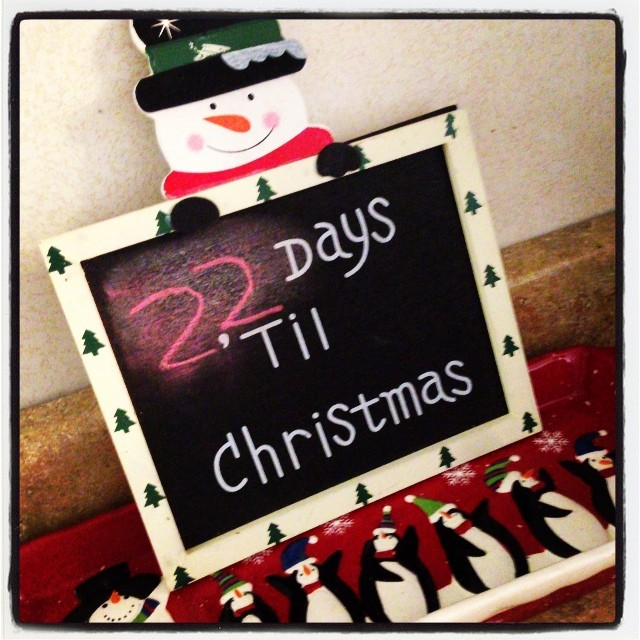 countdown to christmas, christmas 2013, holidays, lilkidthings, andrea updyke,