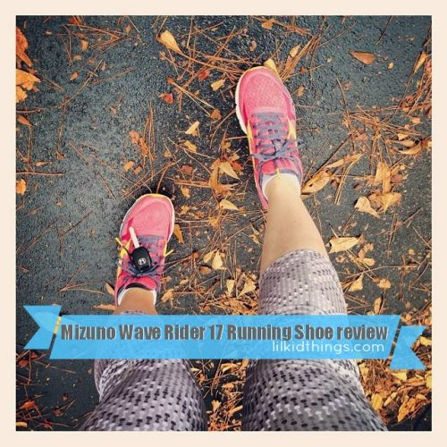 mizuno running, wave rider 17 review, andrea updyke, lilkidthings