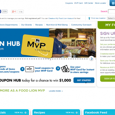 Save with the Food Lion MVP Coupon Hub