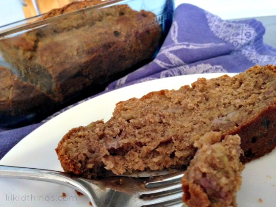 easy banana bread with splenda recipe