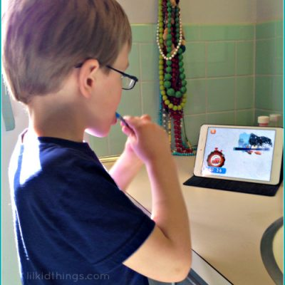 Start great brushing habits early with the Oral-B Disney Timer App!