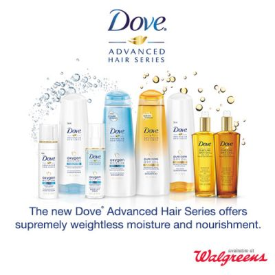 Chat hair care at the Dove® Advanced Hair Series at Walgreens Twitter Party!