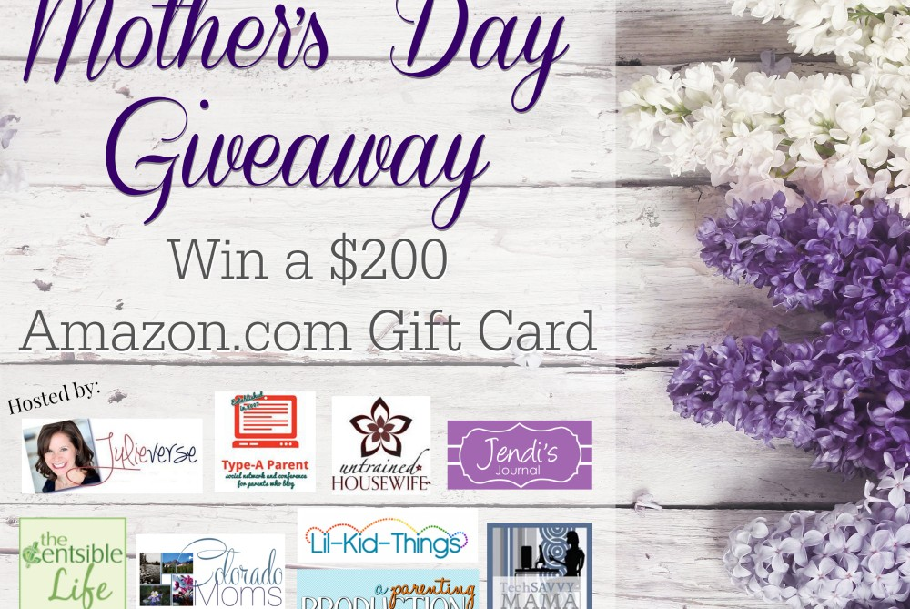 Mother's Day Giveaway Final