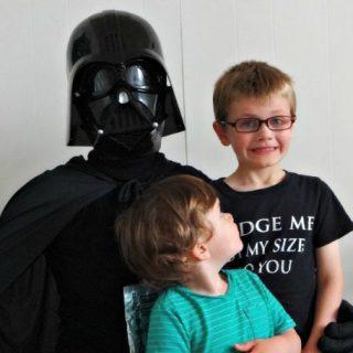 Star Wars Character breakfast Vader