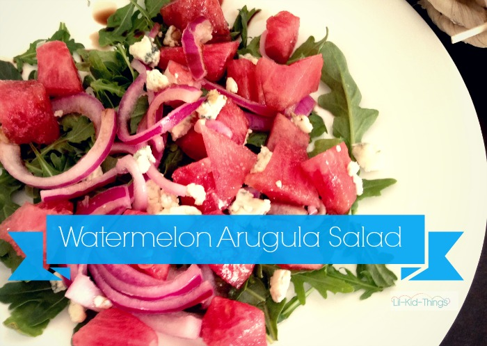watermelon salad home