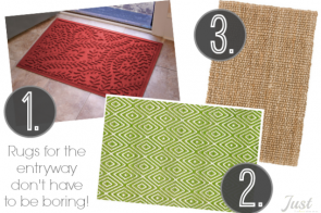 Entryway rugs featured