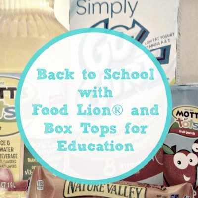 It's time for Bonus Box Tops with Food Lion® and Box Tops for Education™!