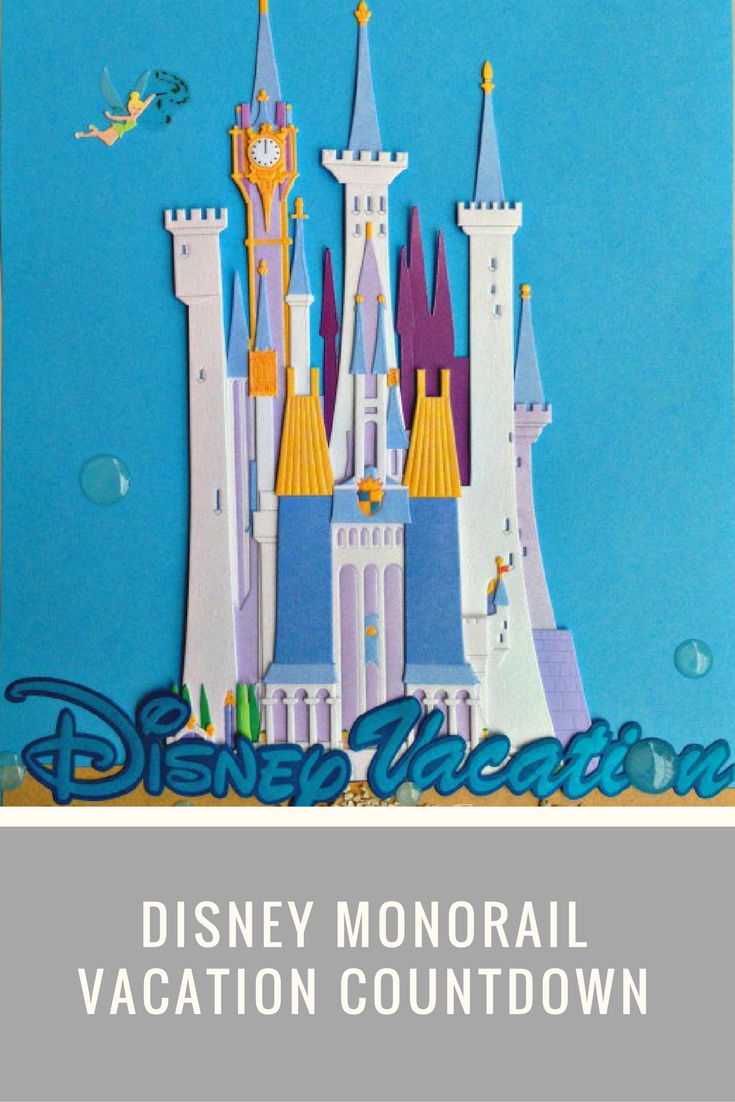 Diy Countdown To Disney Monorail Craft Just Is A Four