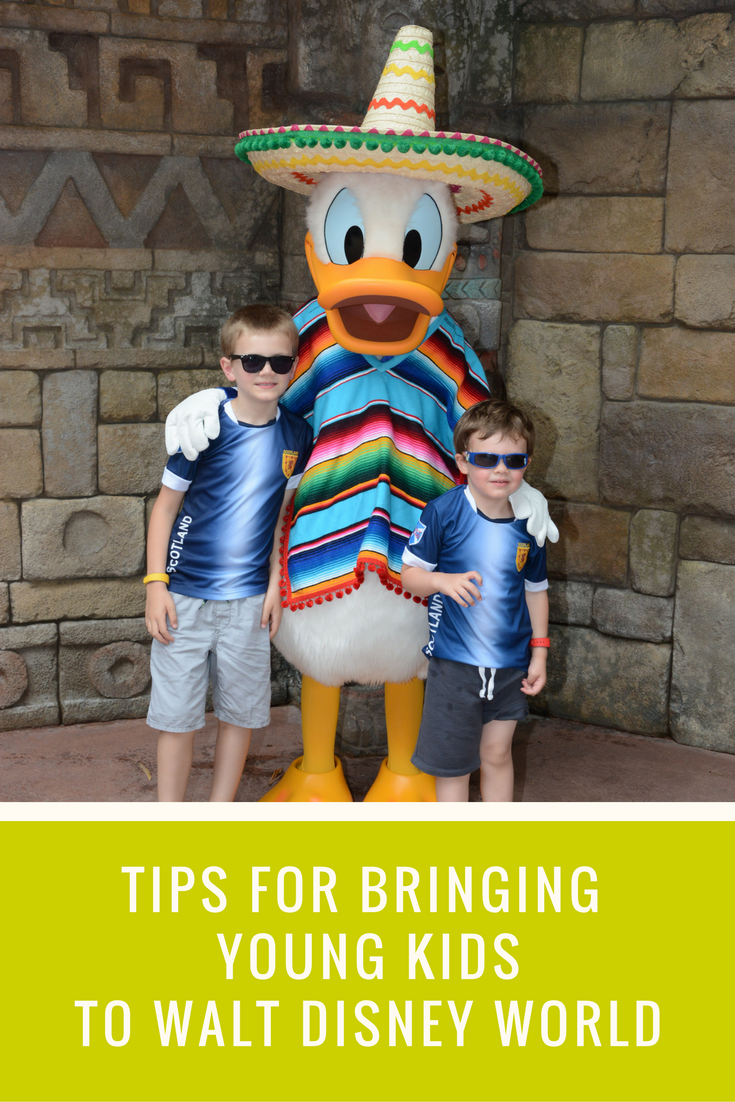 What to Bring to Disney for a day in the parks with young kids
