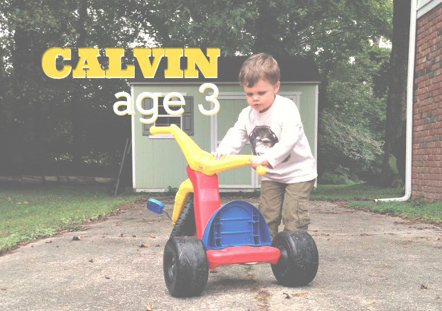 Interview with Calvin - age 3