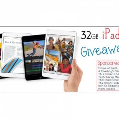Win a 32G iPad Mini!