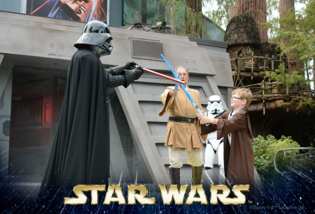 Our first Jedi Training Academy experience