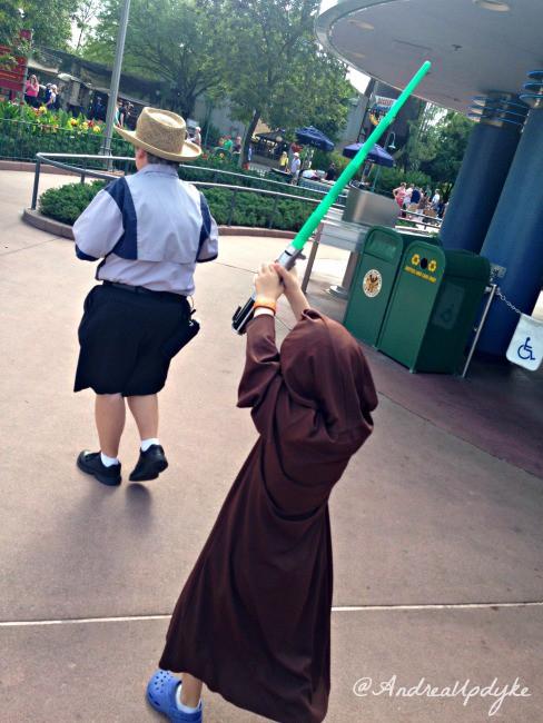 Jedi Training line leader