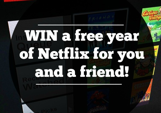 netflix giveaway feat