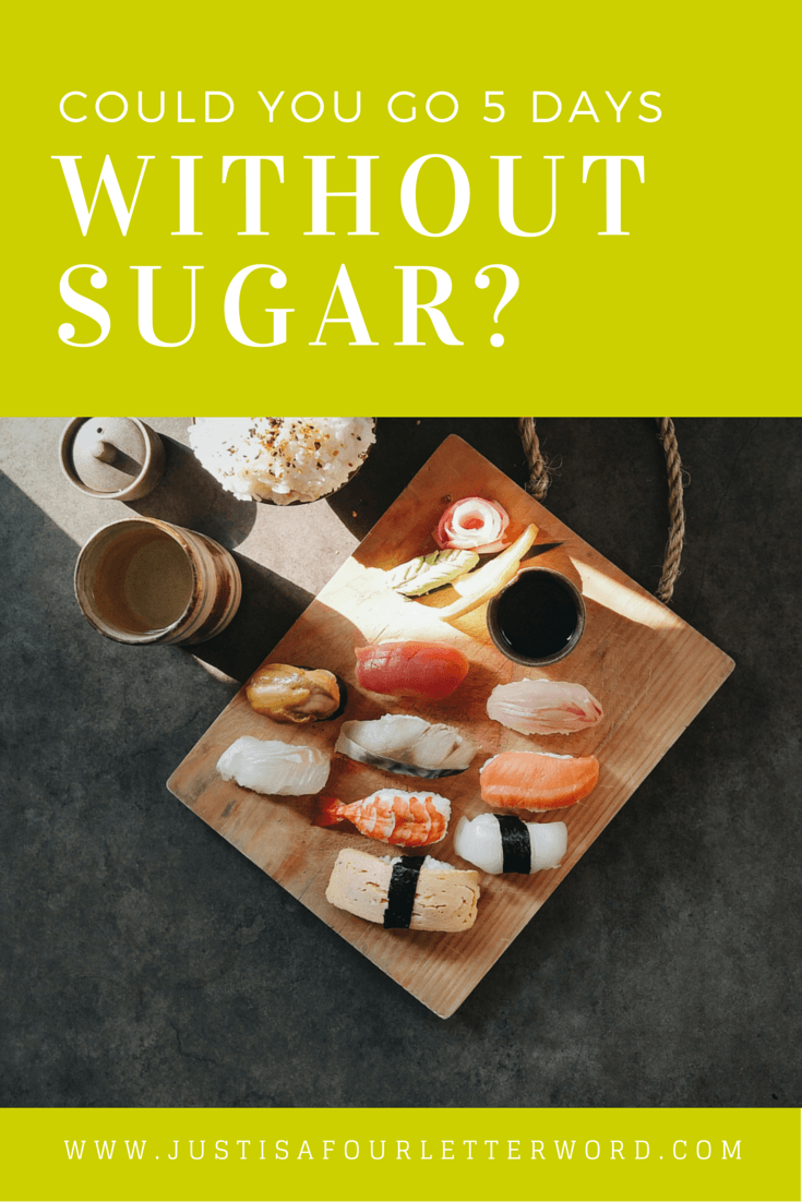 Could you go 5 days without added sugar? I took the no sugar challenge and learned a lot about the no sugar diet, meal and snack recipe ideas and benefits of eating clean. It wasn't as hard as I expected!