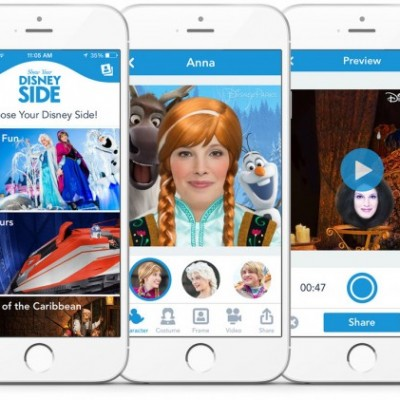 Have an iPhone? Let this Disney app make your day