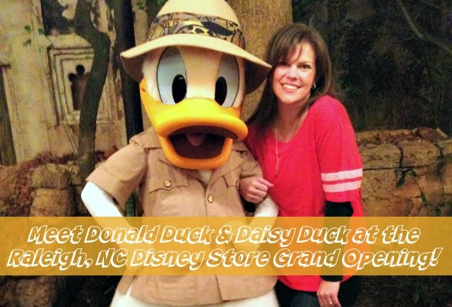 Raleigh: Meet Donald Duck and Daisy Duck at The Disney Store!
