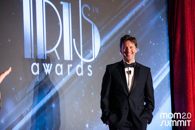 Andrew McCarthy - Iris Awards Mom 2.0 2015