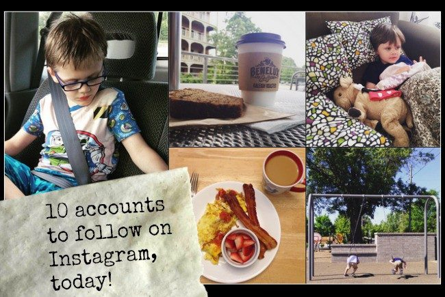 10 instagram accounts to follow today, andrea updyke, just is a four letter word
