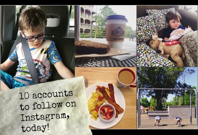 10 Instagram accounts to follow today