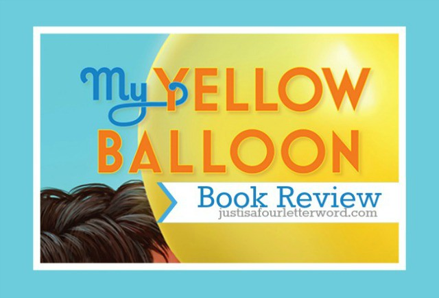 my yellow balloon book review featured