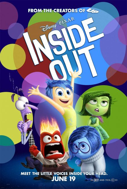 Inside Out movie review, giveaway