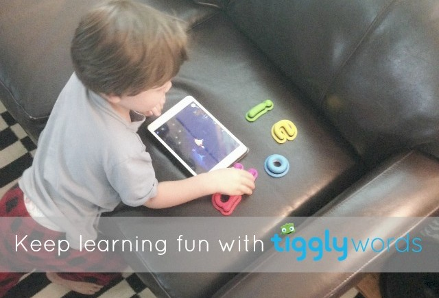 Learning is fun with Tiggly Words