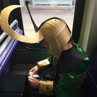 DIY Loki Helmet for Kids – Loki Halloween Costume