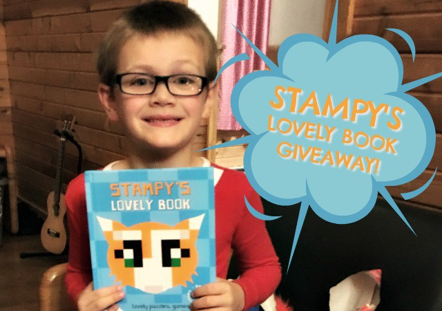 Stampy, Stampy' Lovely Book, Stampy Cat, giveaway, Stampy giveaway