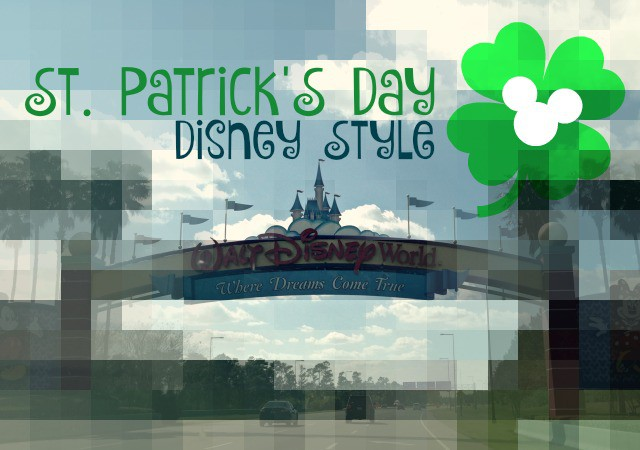 st. patrick's day, disney world, st. patrick's day at disney
