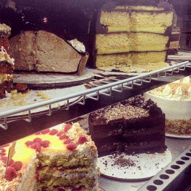 Hayes Barton Cafe Cake