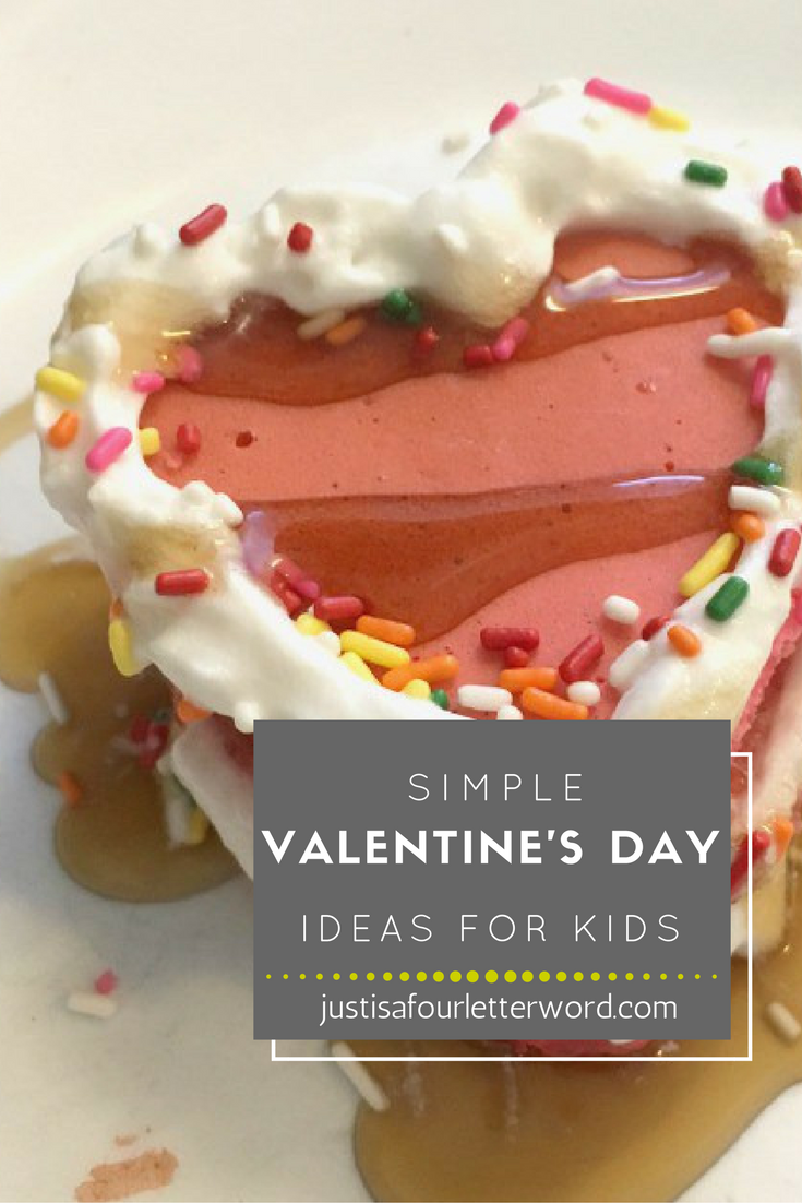 Simple Valentine's Day for kids to make, enjoy and give away.