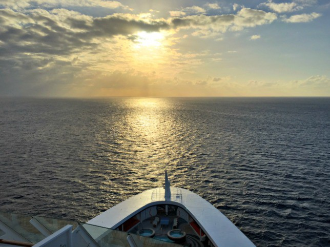 Disney Cruise Line Sailing away