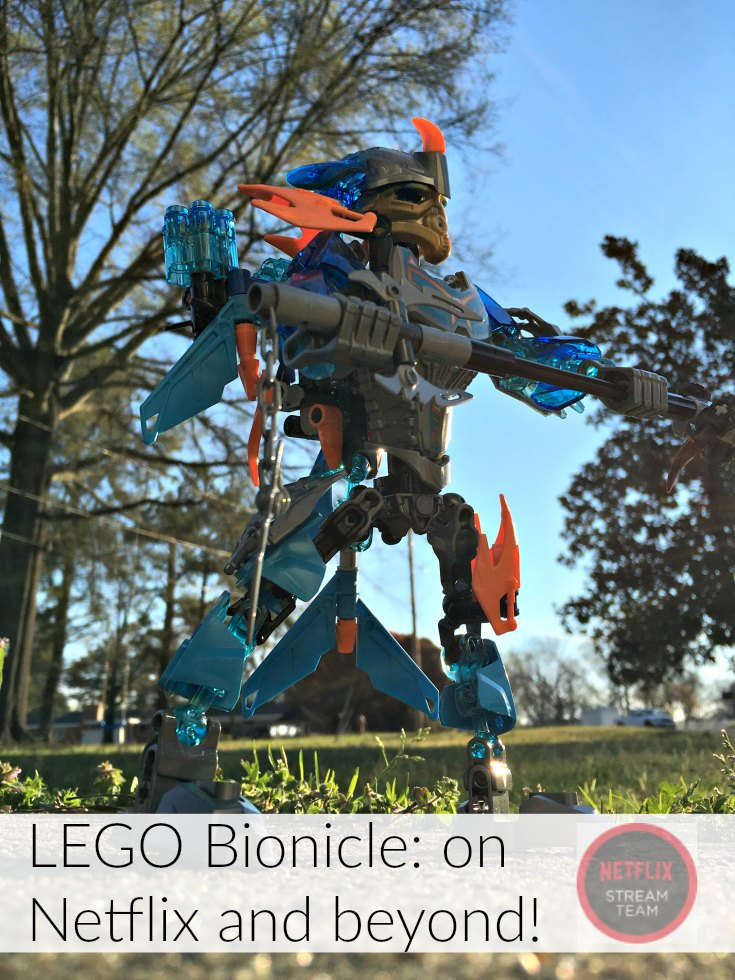 Go beyond Netflix with LEGO Bionicle