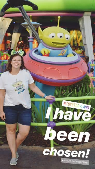 Toy Story Land Alien Photo