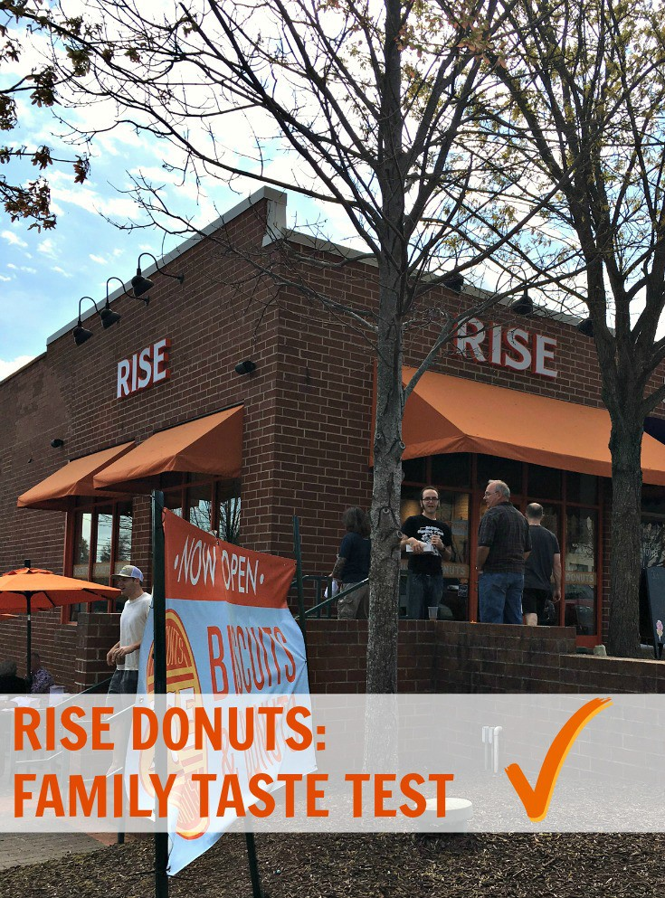 A RISE Donuts Family Taste Test!