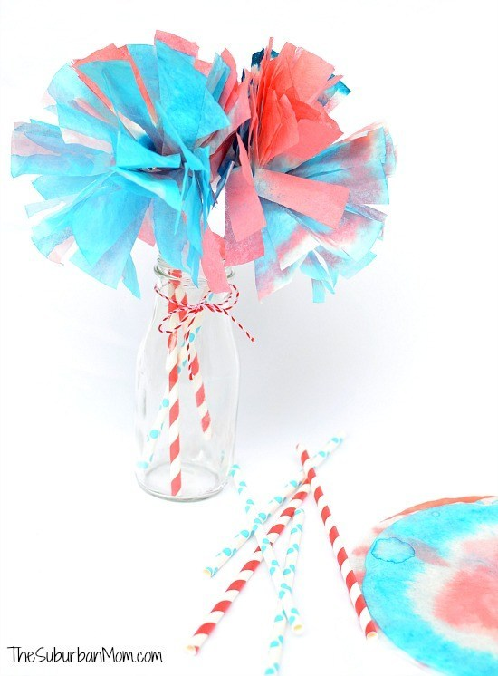 4th-of-July-Coffee-Filter-Pom-Poms