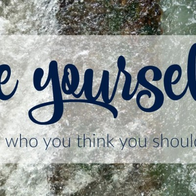 Cracking the 'Be Yourself' code