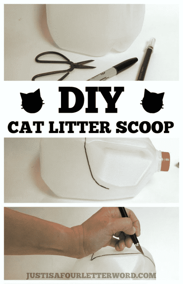 litter scoop diy