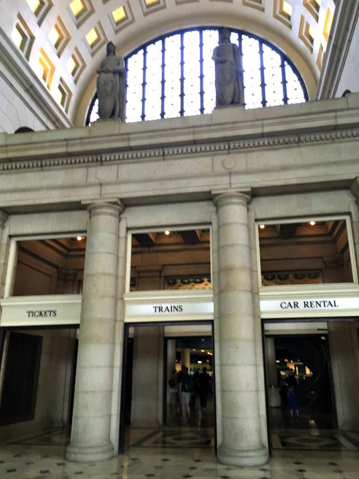 Union Station doors
