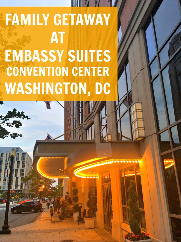 A Family Weekend Getaway in Washington DC is so much fun! The Embassy Suites was a great hotel for our family and so convenient!