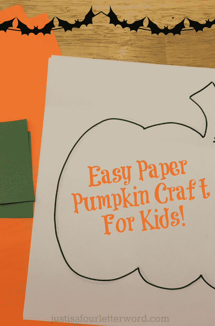 Check out these easy paper pumpkin crafts for kids. Great for lazy fall mornings and most use craft supplies you probably already have at home. #fallcrafts #paperpumpkincrafts #paperpumpkin #pumpkin
