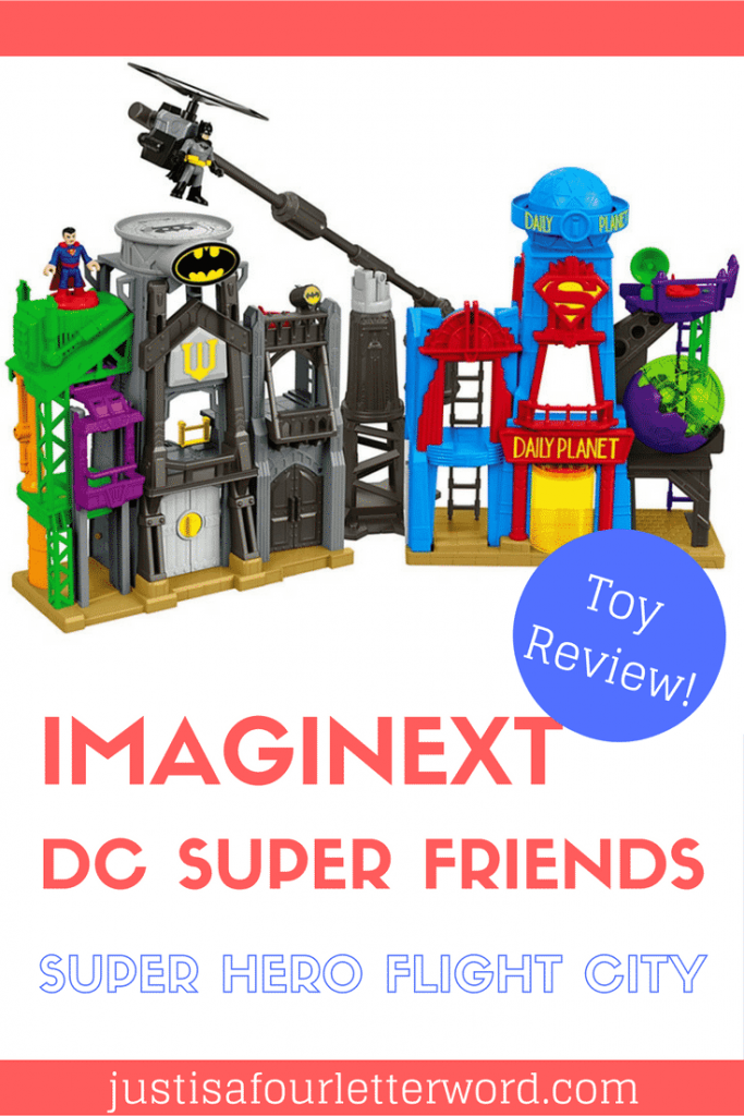 Hot toy for 2016! Does your child have the Imaginext DC Super Friends Super Hero Flight City on their wish list? Check out our video review to see what we thought!