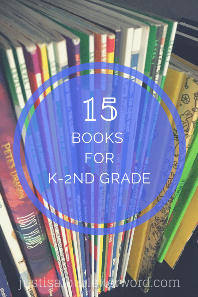 If you are a family of book-lovers, you know this list just scratches the surface of goodness out there. There is something truly wonderful about turning the pages of a new book and I hope my boys enjoy this hobby for years to come. There are so many more books we could include, but these are the books for k-2nd grade my boys come back to again and again.