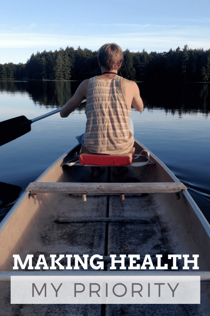 Making health my priority in the new year and beyond