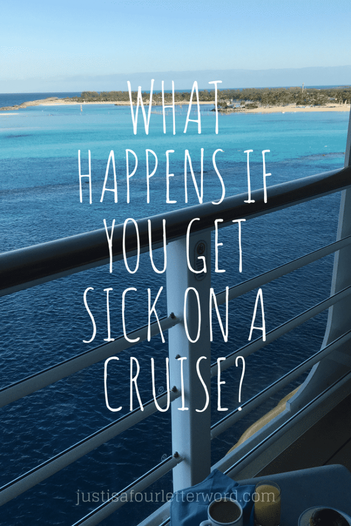 What happens if you get sick on a cruise? Don't worry! You won't be lost at sea. Here are some tips to stay well while on board.