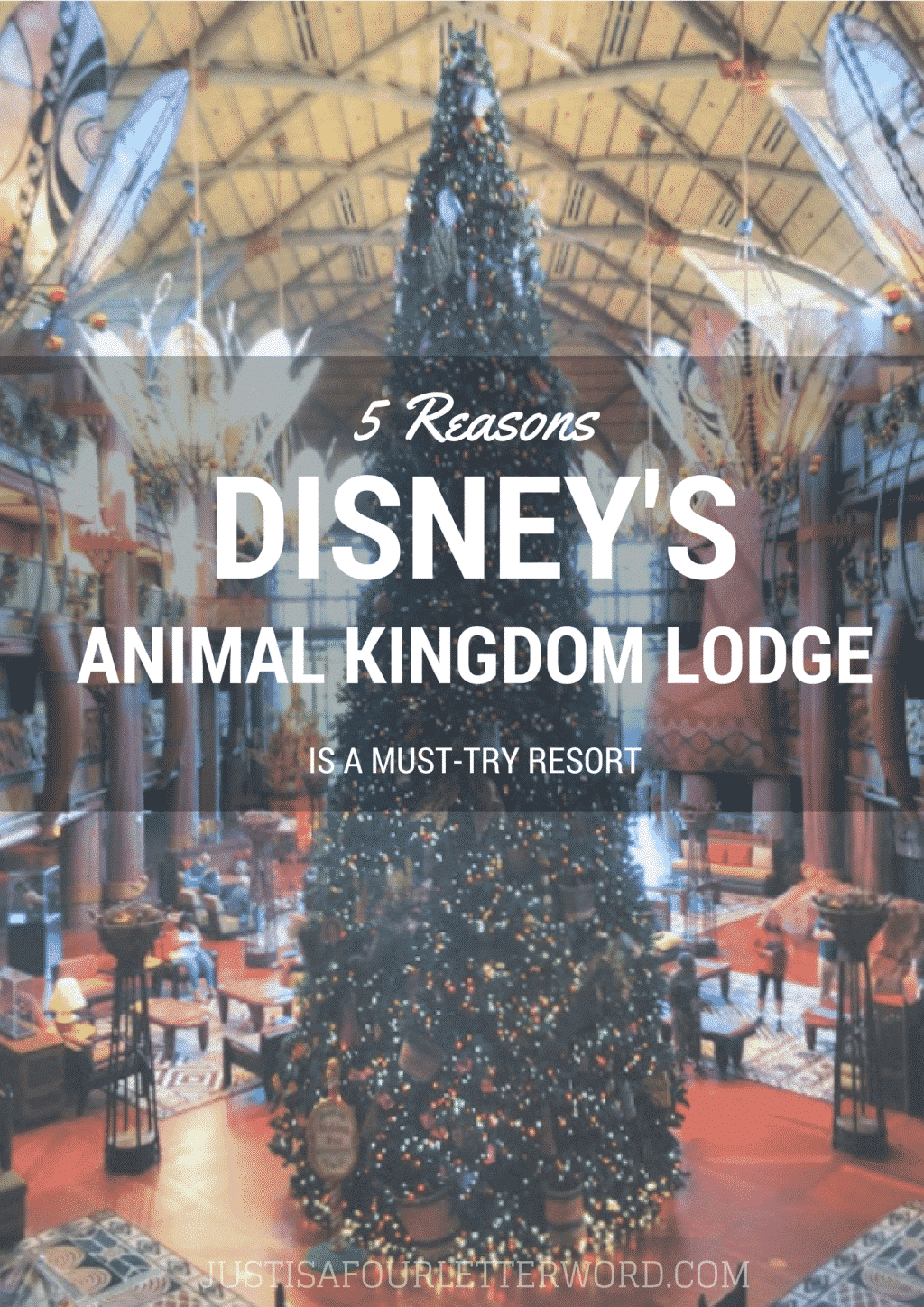 5 reasons Disney's Animal Kingdom Lodge is a must-try resort.