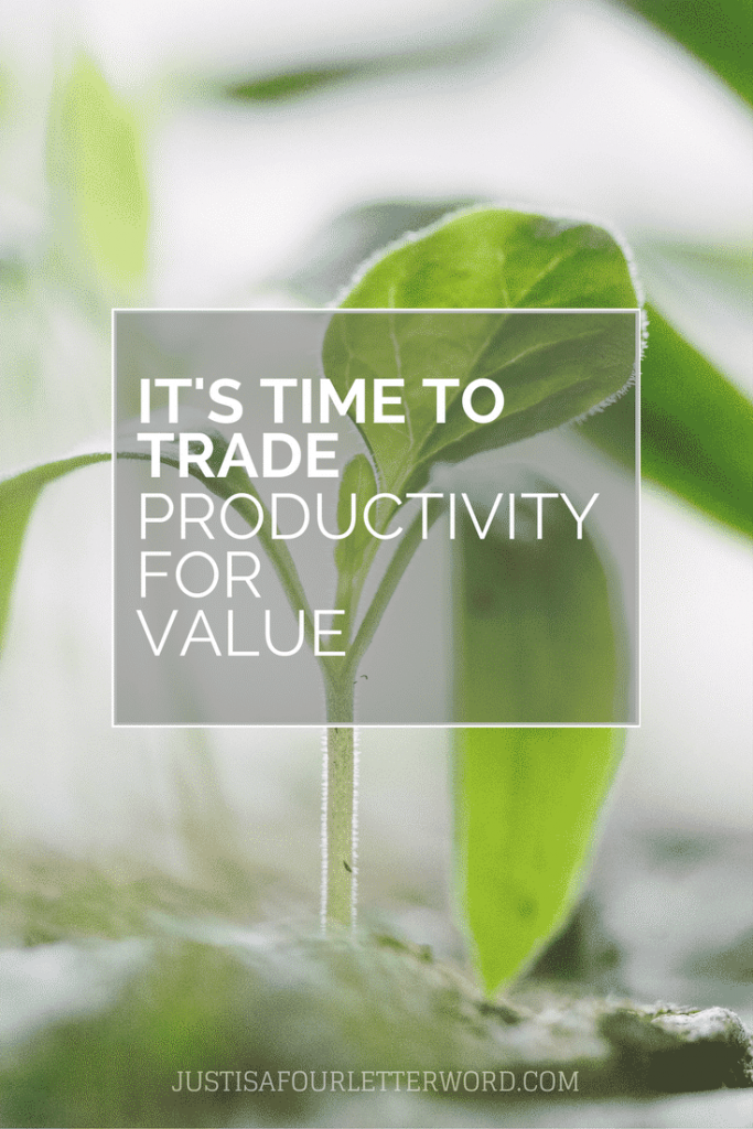 It's time to get healthy and trade productivity for value. Working and parenting are hard enough without unrealistic expectations.
