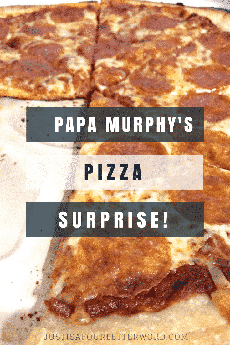 We loved using a Papa Murphy's take and bake pizza dinner night as the perfect cover for my parents epic 50th anniversary surprise!